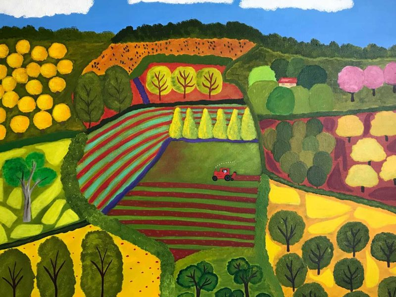 Annie Holcombe, Southern Highlands artist, Oxley Hill
