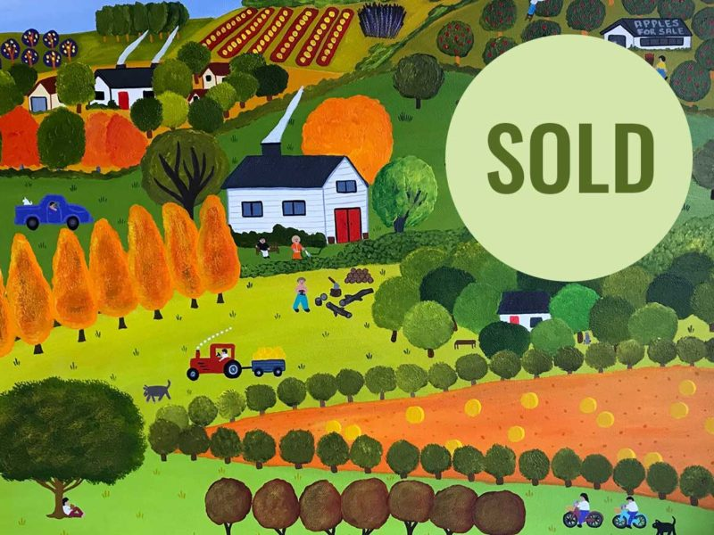 Naive Art, Annie Holcombe, Southern Highlands