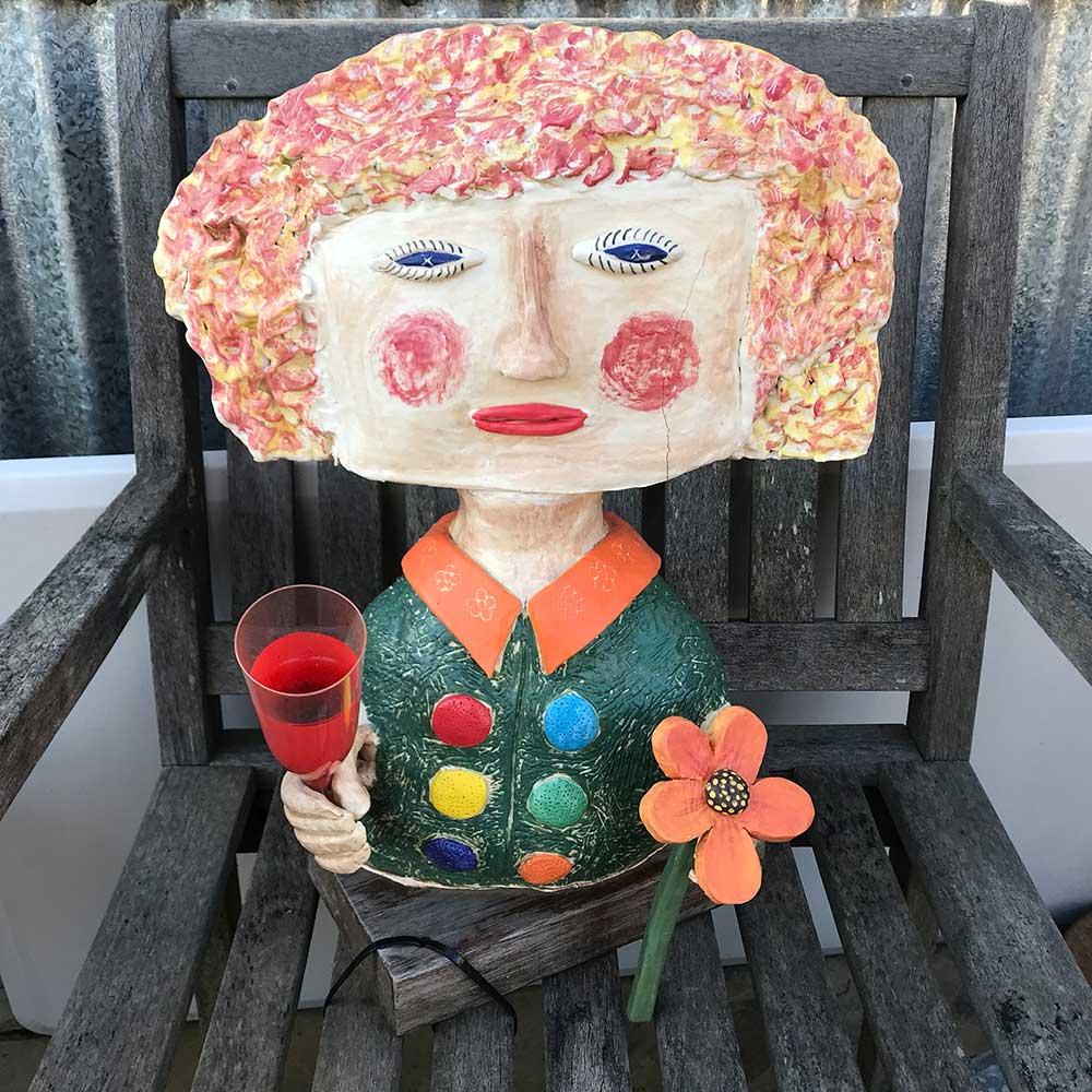 Naïve art, Annie Holcombe, Southern Highlands artist