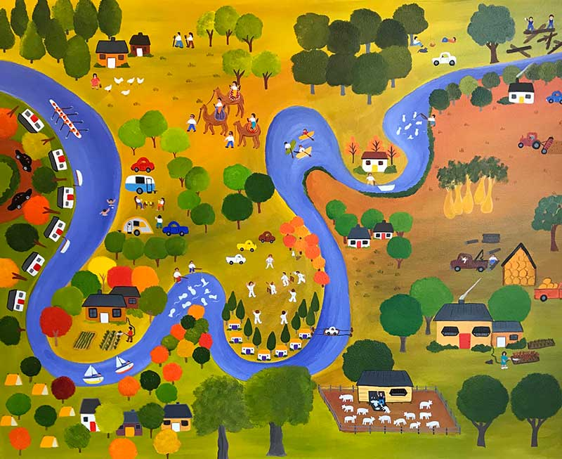 Annie Holcombe, Art Exhibition, Southern Highlands