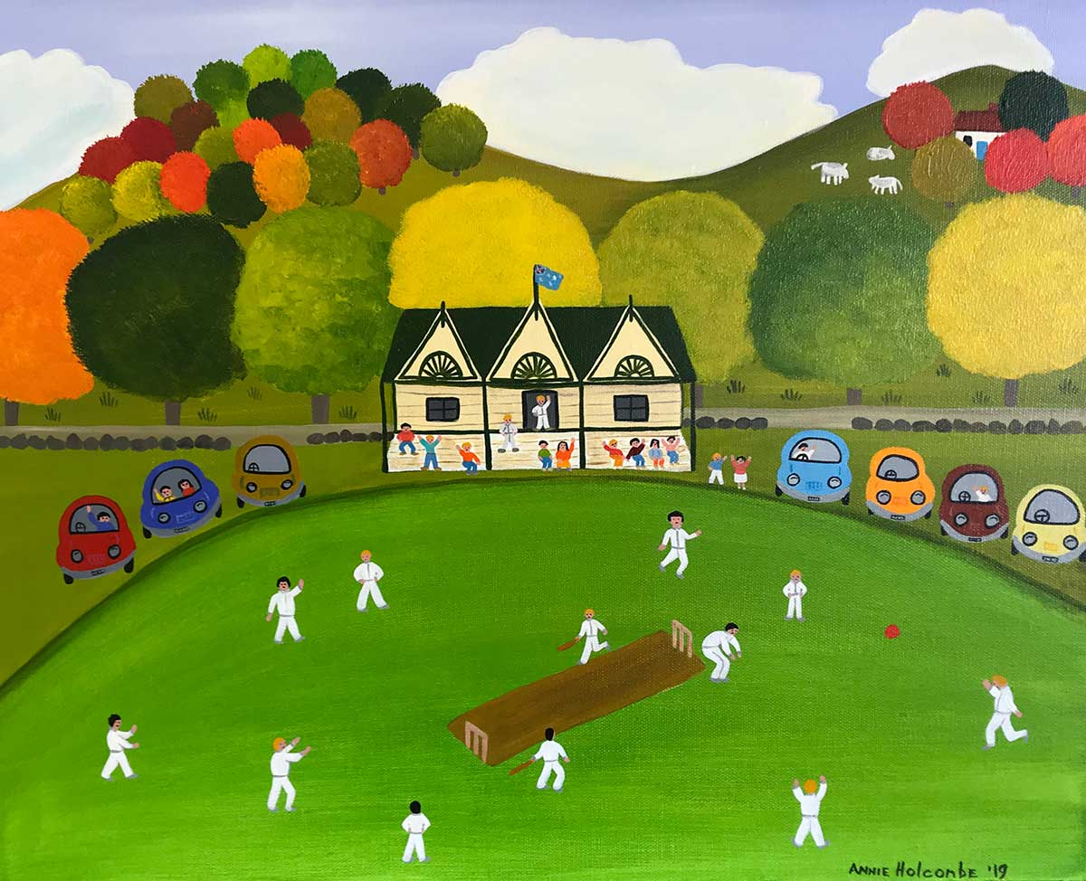 Annie Holcombe, Southern Highlands artist, Country Cricket