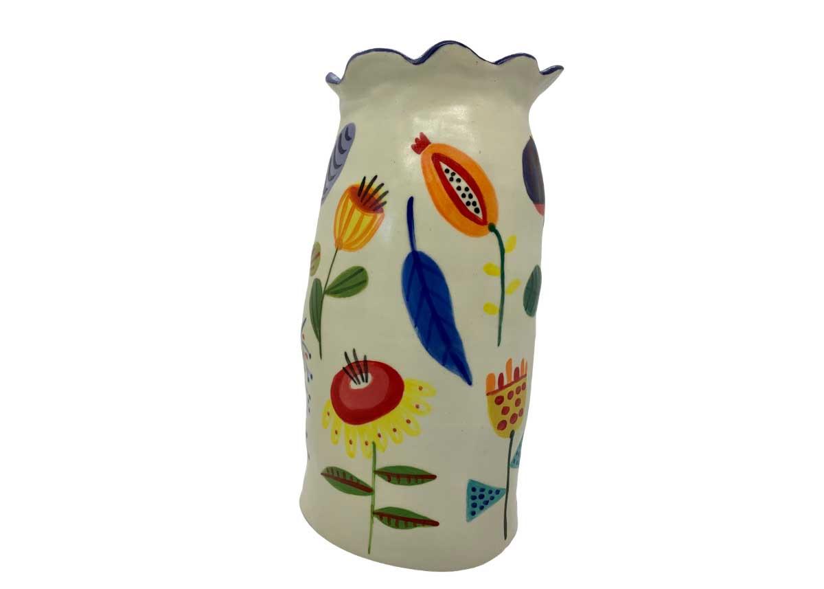 Naïve art ceramics, Annie Holcombe, Southern Highlands artist